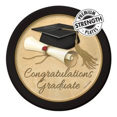 Check out the deal on Sophisticate Grad Plates at Party at Lewis Elegant Party Supplies, Plastic Dinnerware, Paper Plates and Napkins College Graduation Parties, Graduation Party Supplies, Graduation Decorations, Graduation Cards, Grad Parties, Nursing Graduation, Graduation Ideas, Plastic Dinnerware, Plastic Table Covers