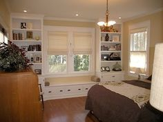 can I put built ins surrounding living room on two walls? - Google Search