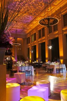 Bently Reserve, San Francisco. Wedding. Lighting Design by Got Light.