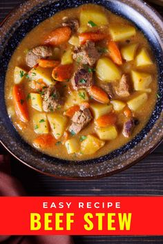 This Guinness Irish beef stew is the ultimate comfort food. So easy to make in one pot and the kind of food you want on a cold day. #comfortfood #stew #irishrecipes Irish Recipes, Beef Recipes, Irish Beef, Magic Recipe, Comfortfood, International Recipes, Guinness, Original Recipe, Ratatouille