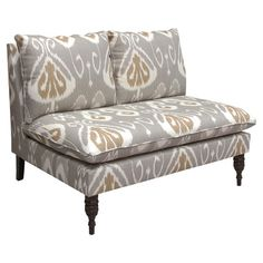 I pinned this Gibson Settee from the Lily & Oxford event at Joss and Main!