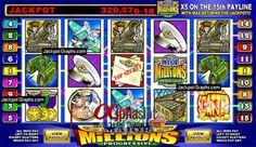 Major Million Jackpot Winner! #Casino #Slots #Millionaire
