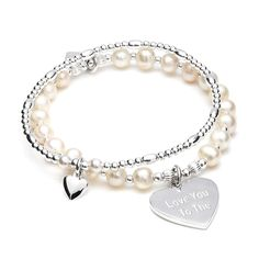 This timeless hand-beaded double strand bracelet will give any fashion statement an elegant and sophisticated feel.