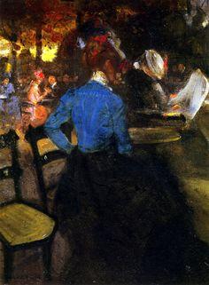 Alfred Maurer, the cafe -1900 on ArtStack #alfred-maurer #art