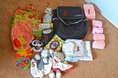 What to pack for air travel with an infant!