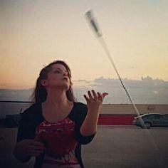 Shashka sword tricks