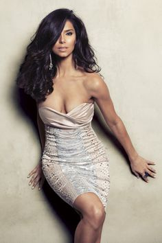 Roselyn Sanchez...dress...I want :).................................................... http://www.allaboutallaboutallabout.com/
