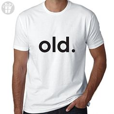 Simple and Trendy old. Birthday Present Gift Men's T-Shirt - Birthday shirts (*Amazon Partner-Link)