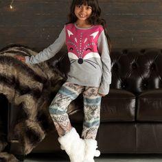 Cherokee Girls Fox Pyjamas