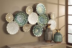Whether you want to furnish an entire room, or just want to buy one item to complete your existing room,Miami Direct Furniture makes it convenient, affordable and easy with our online guide to assist you. Plate Wall Decor, Metal Wall Decor, Plates On Wall, Metal Wall Sculpture, Wall Sculptures, Furniture Direct, Furniture Decor, Living Room Color Schemes, Cool Walls