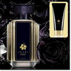 New Imari Elixir- with tempting juicy blackberry essence, seductive rose absolute and hypnotic pure vanilla extract.