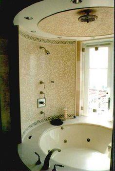 bathroom ideas KBHomes - Yeah, loves this. Bath Tub Fun, Bath Tubs, Kb Homes, Up House, New Home Builders, Beautiful Bathrooms, Dream Bathrooms, My Dream Home, Dream Big