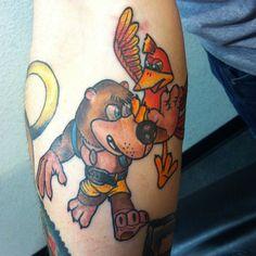 Banjo-Kazooie tattoo
