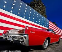Happy 4th of July! Love me a red Lincoln Continental!
