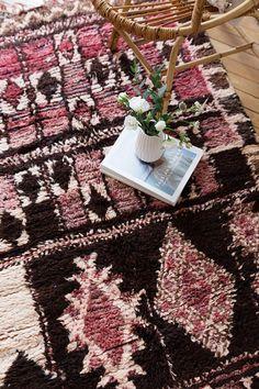 Vintage Moroccan Boucherouite Ourika Rug | Loom & Field on Etsy