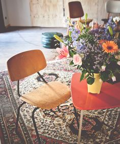 Vintage vibe at Ani & Haakien hostel in Rotterdam, the Netherlands