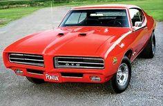 "detroitmusclecargarage: ""The 1969 Pontiac ""The Judge"" GTO. In Pontiac offered the GTO with ""The Judge"" factory option, named after a popular TV show comedy routine of the time. ""The Judge"". Pontiac Cars, Chevrolet Camaro, Pontiac Gto 1969, Rat Rods, Porsche 911, Street Racing, Mustang Cars, Us Cars, American Muscle Cars"