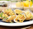 Garlic mussels recipe