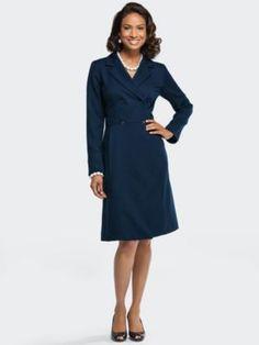 1940s Style Coat Dress