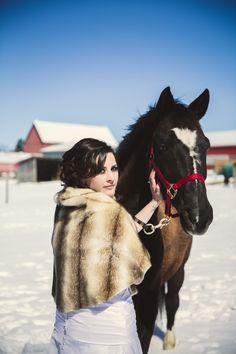 winter wedding Winter Wedding Inspiration, Wedding Shoot, Hair Makeup, Horses, Photography, Animals, Animales, Animaux, Hair Styles