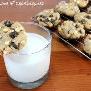 For the Love of Cooking » S'mores Cookies    Add 2 eggs  make the brown sugar 1/2 and reg sugar 1/4. push 3 mini marshmallows on top of each cookie before baking