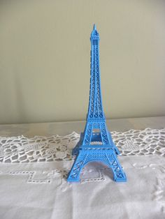 "A beautiful modern blue""EIFFEL TOWER"""