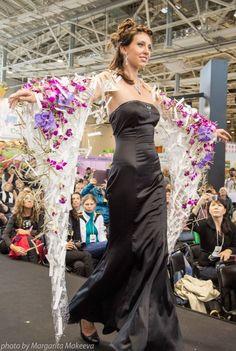 Floral drape design