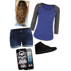 Day out by maddie-medsker on Polyvore featuring polyvore fashion style maurices VILA Vans