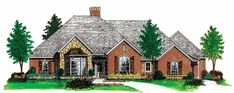 Eplans New American House Plan - European Mastery - 2260 Square Feet and 3 Bedrooms(s) from Eplans - House Plan Code HWEPL10856