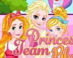 Em Princesas Disney Loiras Estilosas, as lindas e loiras Princesas da Disney: Elsa, Cinderela e Rapunzel estão se preparando para uma super festa com todos os príncipes e princesas. E elas querem ser as mais belas princesas de todas. Ajude nossas princesas loiras encontrar o visual perfeito para a festa. Divirta-se com as Princesas Disney!