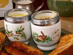 For me, nothing says Christmas like coddled eggs and toast.
