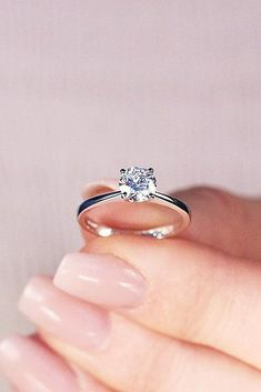 12 Engagement Ring Designers You Must See Simple Solitaire Round Cut Diamond White Gold More