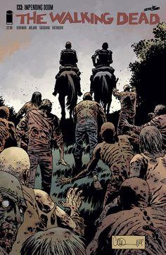 Issue #133 #WalkingDead #comic #cover #kirkman #image #thewalkingdead