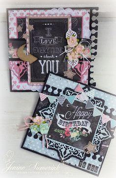 Jenine's Card Ideas: Studio Light - Creative with Chalks