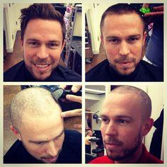 Shawn Shaved Head