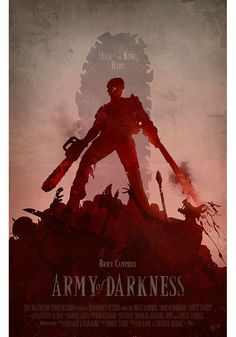Alternative movie poster for Army of Darkness by Anthony Genuardi