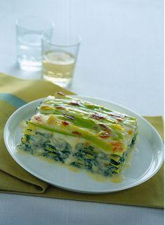 Lasagne di verdure e ricotta