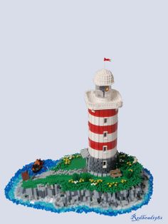 Lighthouse on an island   from my Flickr - Photo Sharing!