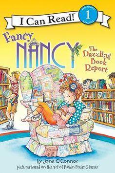 Fancy Nancy the Dazzling Book Report, $3.99