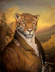 Smithsonian Magazine - October Return of the Great American Jaguar Jaguar, Animal Dress Up, The Lion Sleeps Tonight, Sleeping Animals, Pop Art Wallpaper, Alien Creatures, Pet Clothes, Cat Art, Pet Portraits