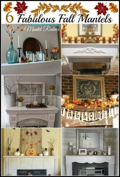 Fall is such a great time of year! Mother Nature is very busy now, redecorating and changing the color paletteof our home from vivid greens and bright colors to one filled with the rich warm color...