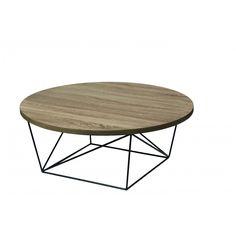 PACO - salontafel - metaal/eik fineer - Ø90x35 cm | Product detail paco-salontafel-metaal-eik-fineer-o90x35-cm 685392 |