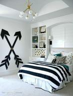 Zwart wit kamer