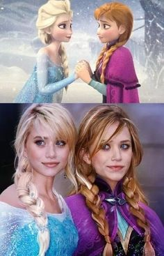 Olsen twins & Frozen