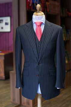 bespoke pinstripe suit - Google Search