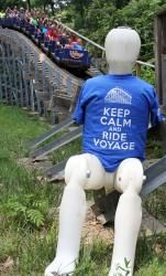 "Available online only: ""Keep Calm and Ride Voyage"" shirt HoliShop: $15.99"