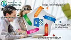 Follow the step of EDB Recovery Utility to repair corrupt EDB File data and recover EDB to PST , EML , MSG and HTML including with whole mailbox items such as :-  inbox , outbox , sent mail , draft , note , date , time , calendar ,journal and appointment etc. EDB to PST Utility is expert to split large PST File into small PST File from 1 GB to 5 GB.  Read More :- https://mobile.twitter.com/edbrecoveryutil