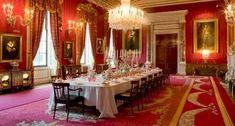 Chatsworth dining room...