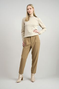 100% alpaca wool sweater Alpaca Wool, Wool Sweaters, Khaki Pants, Normcore, Women, Style, Products, Fashion, Swag