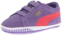 PUMA Suede Crib Shoe (Infant/Toddler),Dahlia Purple/Paradise Pink,1 M US Infant PUMA,http://www.amazon.com/dp/B00DULVT9W/ref=cm_sw_r_pi_dp_ZfXitb1NFTMMFA6Y